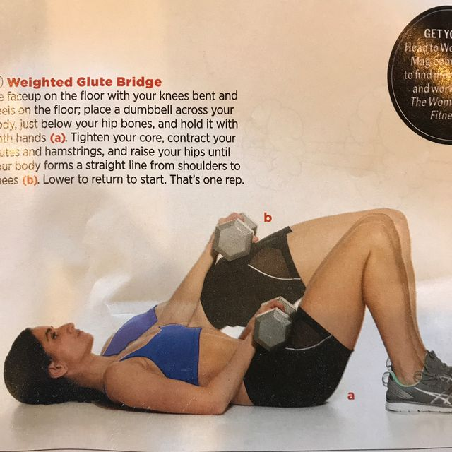 How to do: Weighted Glute Bridge - Step 1