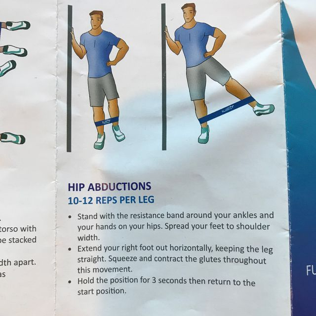 How to do: Hip Abductions With Bands - Step 1