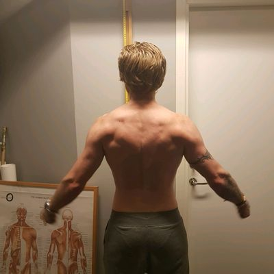 Wednesday, Shoulders and Back