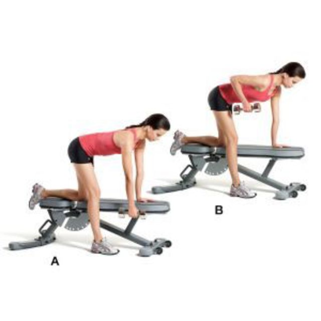 How to do: Row with Shoulder Opening - Step 1