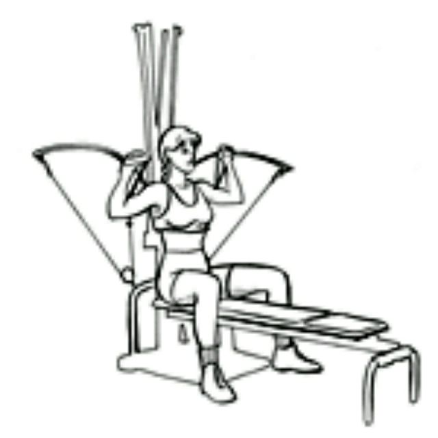 How to do: Bowflex Shoulder Press - Step 1