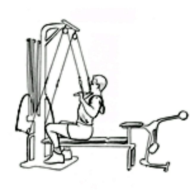 How to do: Bowflex Lat Pulldown - Step 2