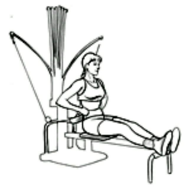 How to do: Bowflex Leg Curl - Step 1