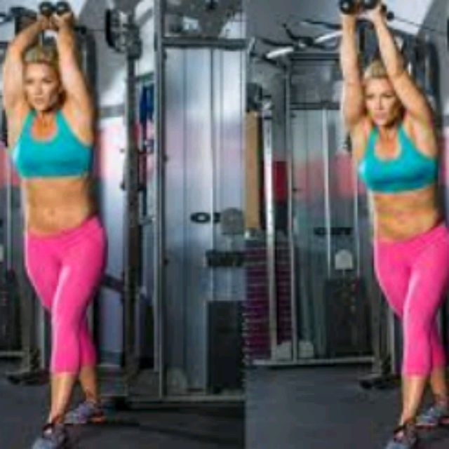 How to do: Rope Tricep Extensions - Step 1