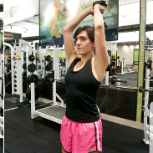 How to do: Rope Tricep Extensions - Step 3