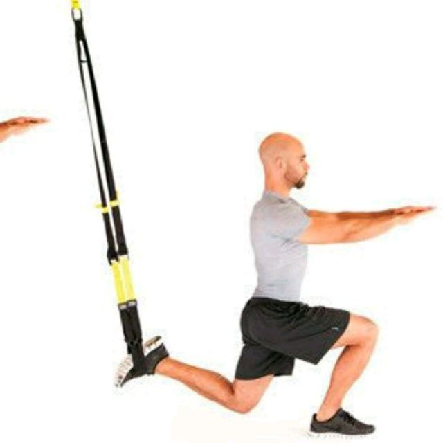 How to do: TRX Lunge - Step 2