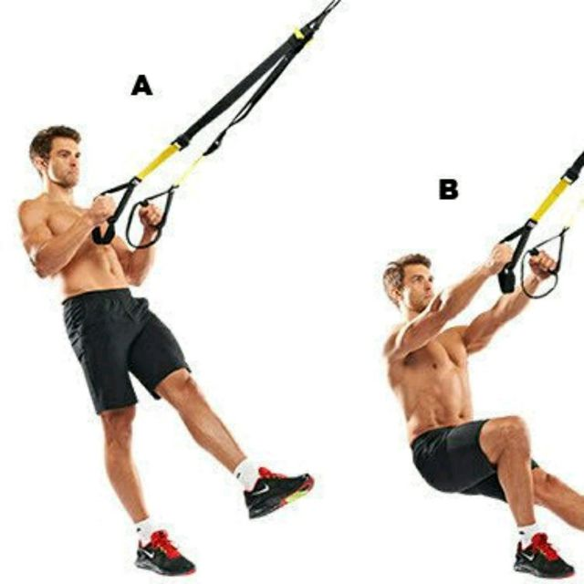 How to do: TRX Single Leg Squat - Step 1