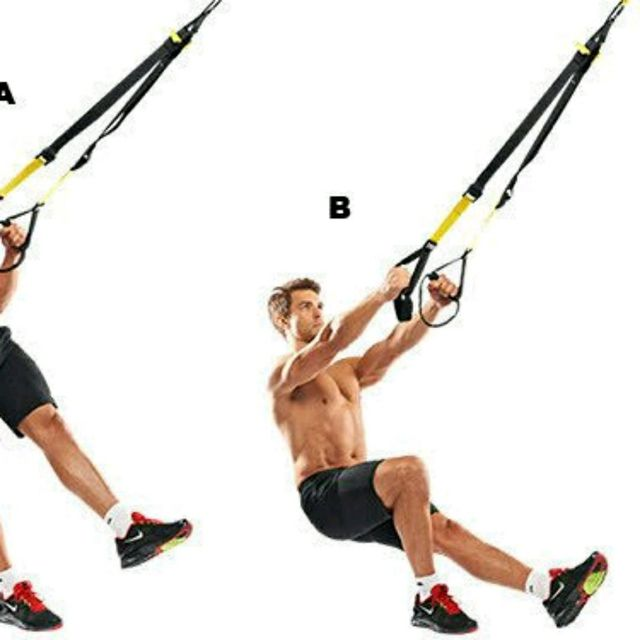 How to do: TRX Single Leg Squat - Step 2