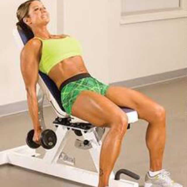 How to do: Incline Dumbbell Curl - Step 1
