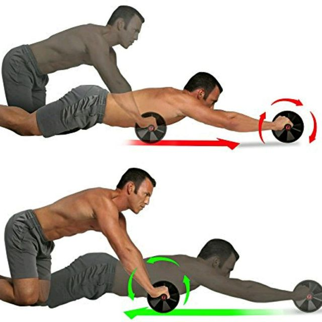 How to do: Perfect Ab Roller - Step 1