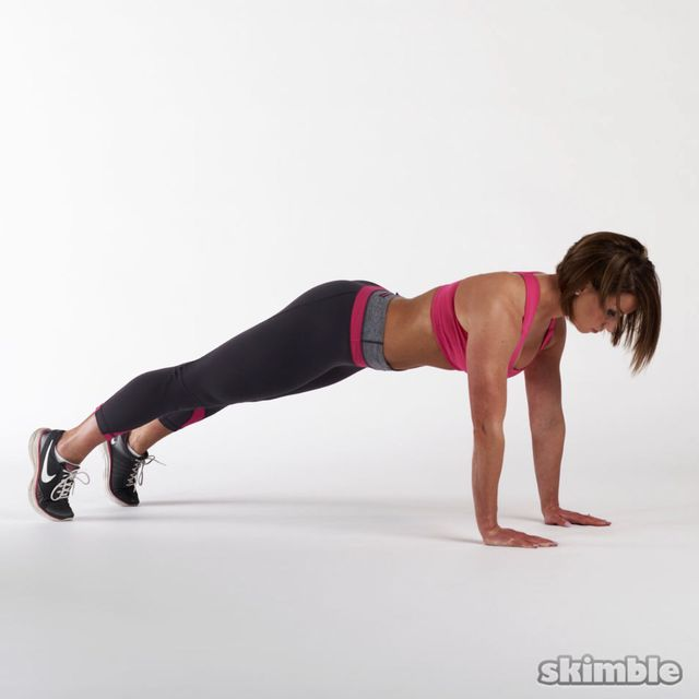 How to do: Basic Forearm Plank - Step 1