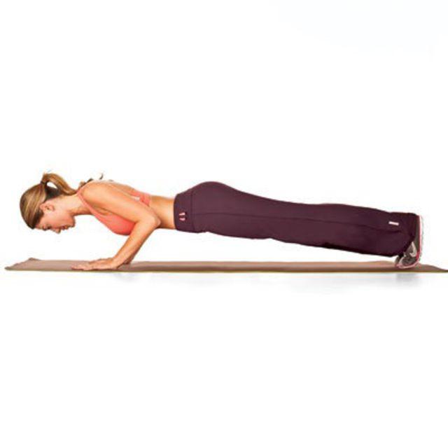 How to do: Basic Forearm Plank - Step 3