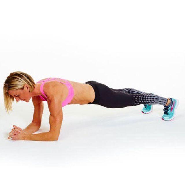 How to do: Basic Forearm Plank - Step 4