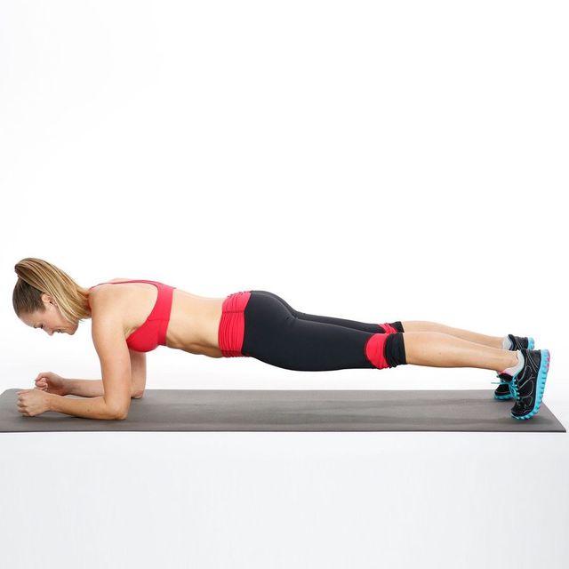 How to do: Basic Forearm Plank - Step 6