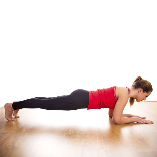 How to do: Basic Forearm Plank - Step 8