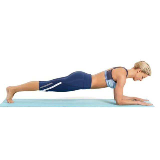 How to do: Basic Forearm Plank - Step 5