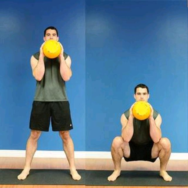 How to do: Kettlebell Thrusters - Step 1