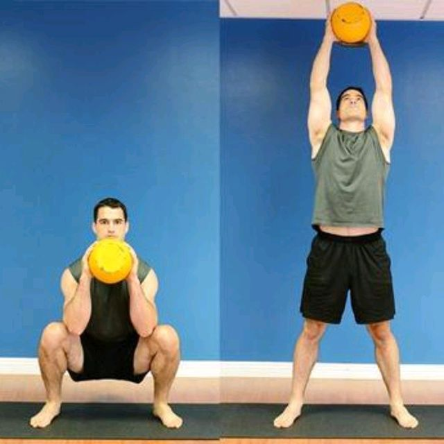 How to do: Kettlebell Thrusters - Step 2