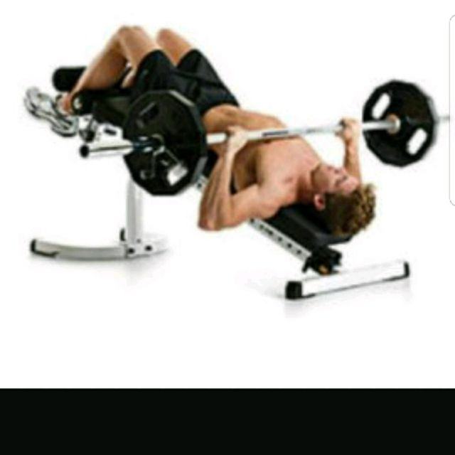 How to do: Decline bench press - Step 1