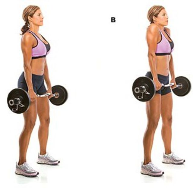 How to do: Shoulder Shrug - Step 1
