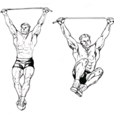 Hanging Knee-Ups Sides