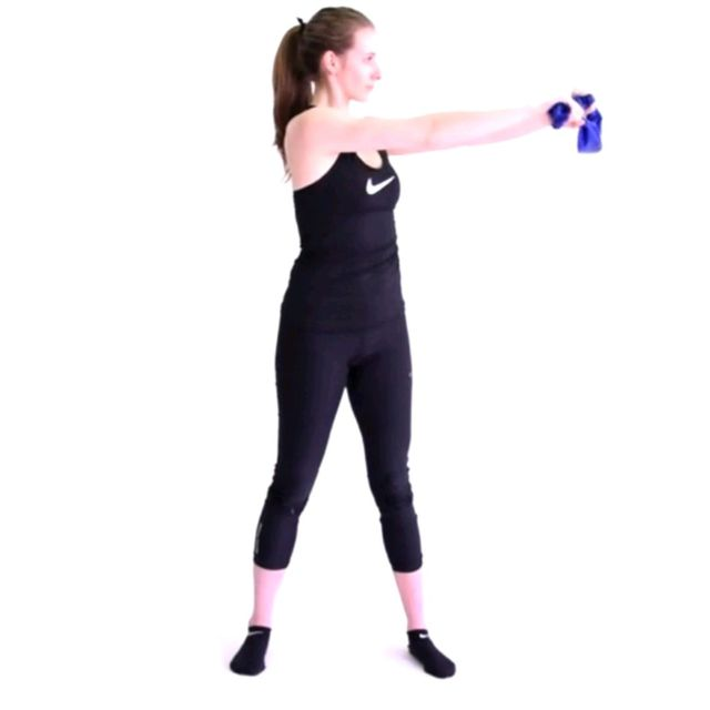 How to do: Resistance Band Archer - Step 1