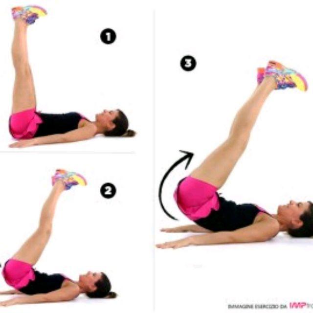 How to do: Crunch inverso a terra - Step 1