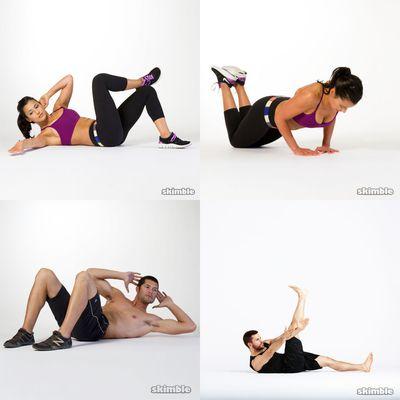 ab workout moderate _ 15 min