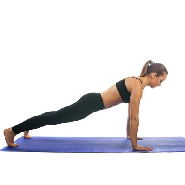 How to do: Traditional Plank - Step 1