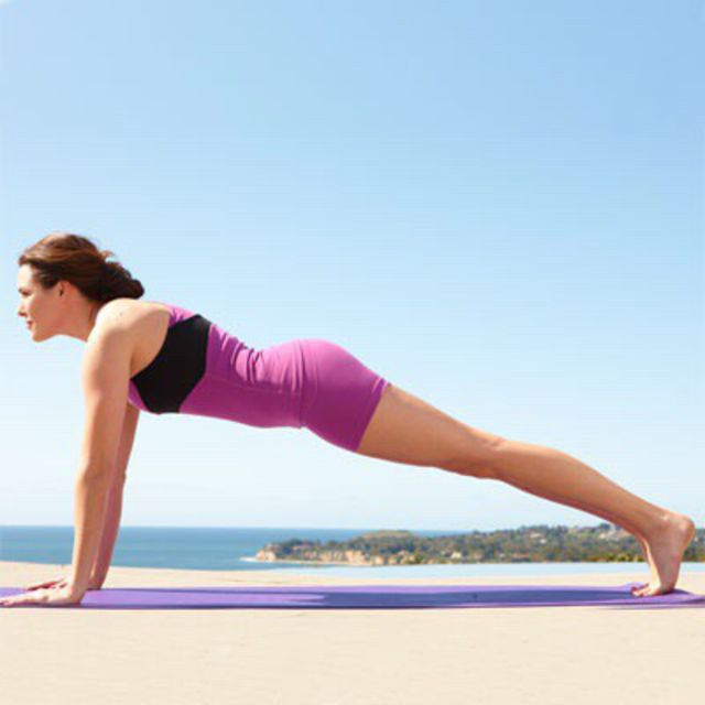 How to do: Traditional Plank - Step 3