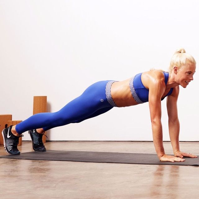 How to do: Traditional Plank - Step 5