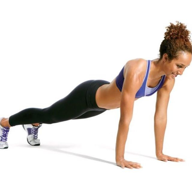 How to do: Traditional Plank - Step 6
