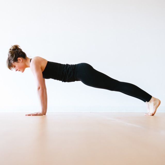 How to do: Traditional Plank - Step 7