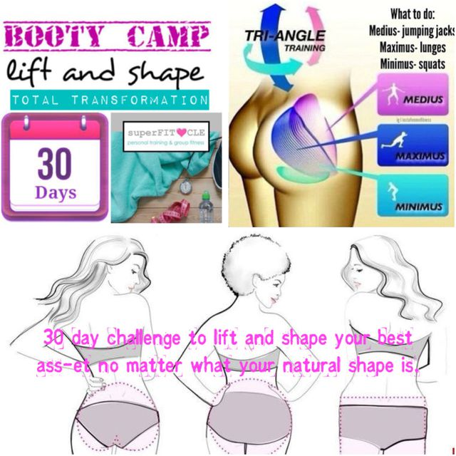 booty camp - day 16