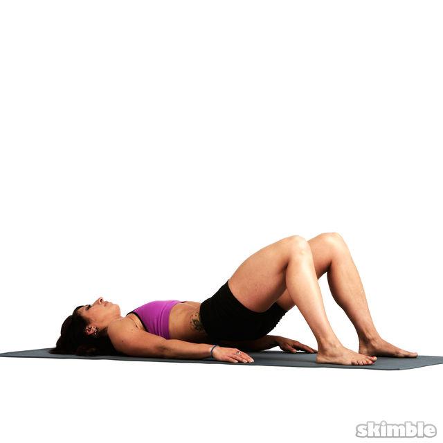 How to do: Pelvic Tilts - Step 2