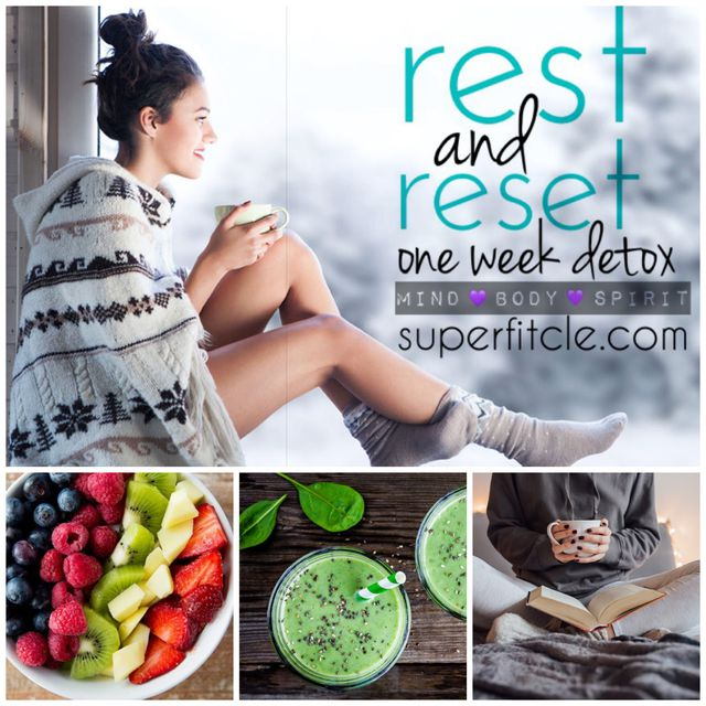 rest and reset: detox day 2 (chest/tris)