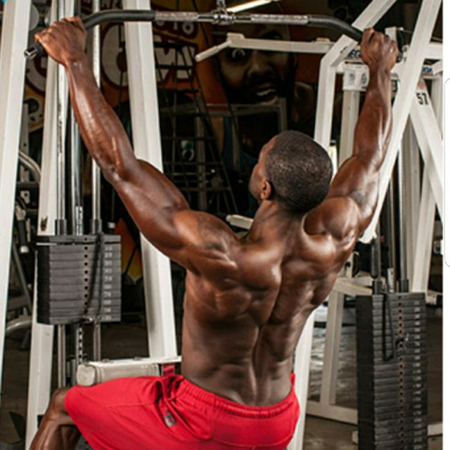 How to do: Front pulldowns - Step 1
