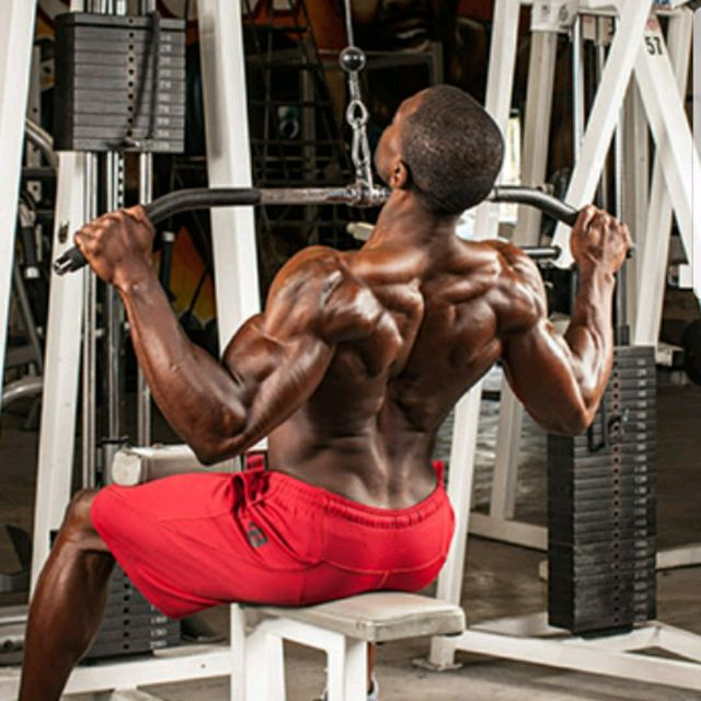 How to do: Front pulldowns - Step 2
