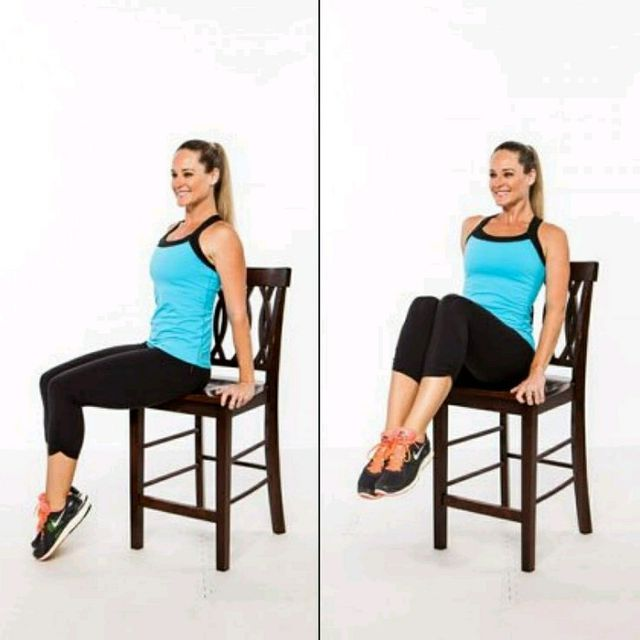 How to do: Ab Chair - Step 1