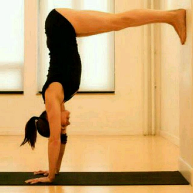 How to do: L Handstand - Step 1