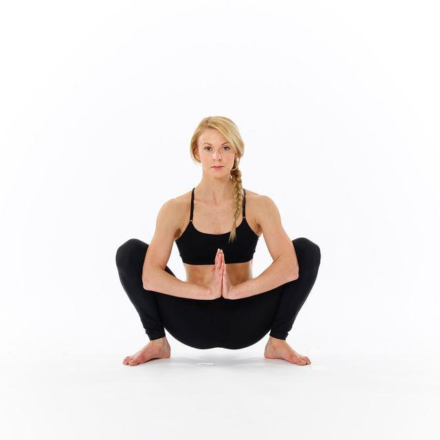 How to do: Prayer Squats - Step 1