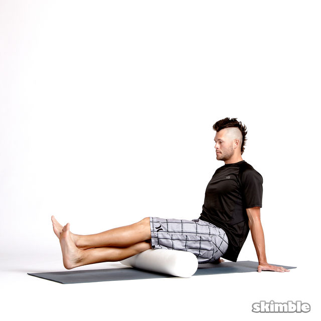 How to do: Stacked Hamstring Rolls - Step 4