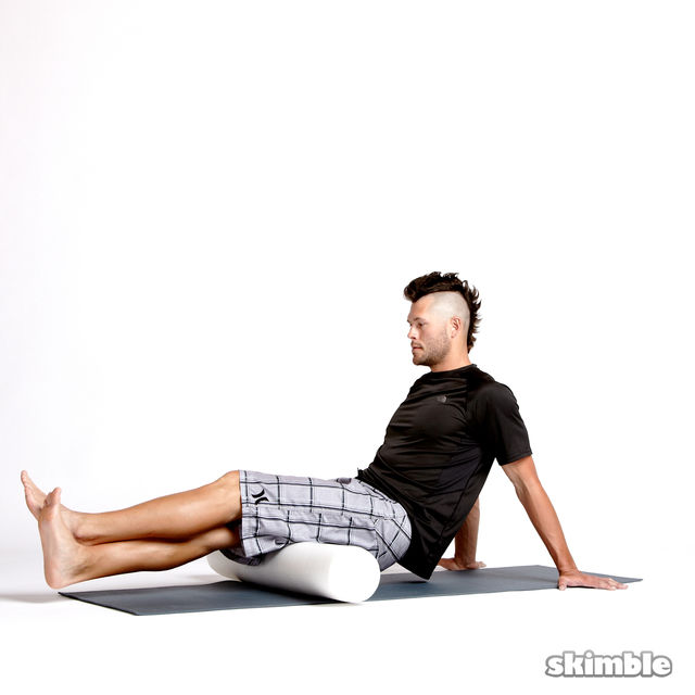 How to do: Stacked Hamstring Rolls - Step 3