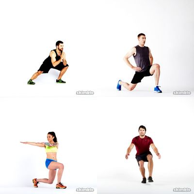 100 Lunges