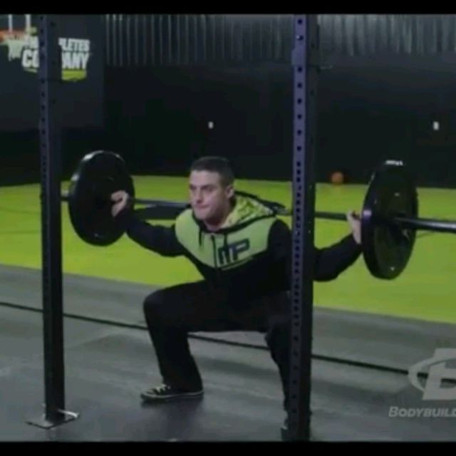 How to do: 28 Method Squats - Step 4