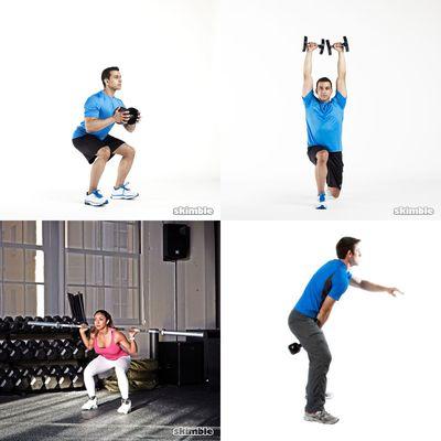 Gym Workouts - Legs