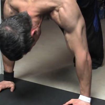 Gymnast Ab Tucks