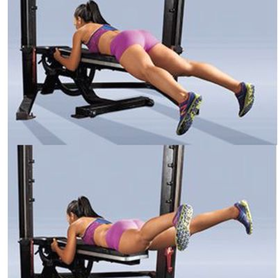 Prone Glute Lifts