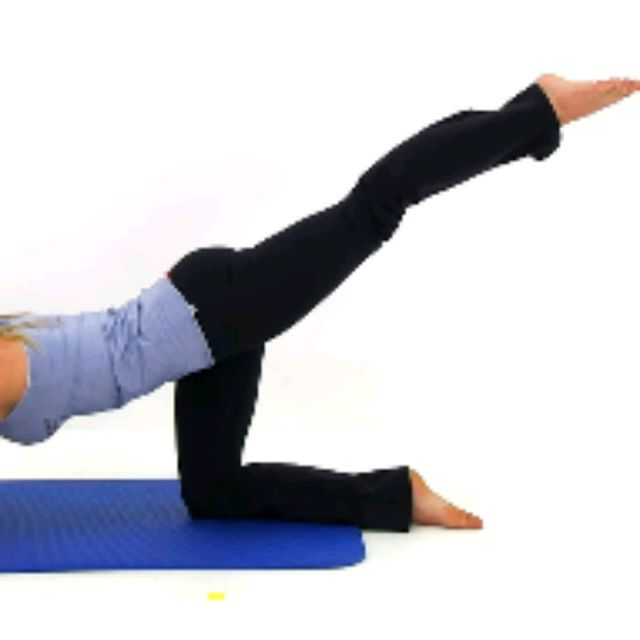 How to do: Kneeling Leg Curls - Step 3