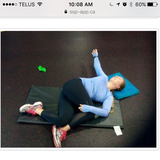 How to do: Thoratic Rotation - Step 1